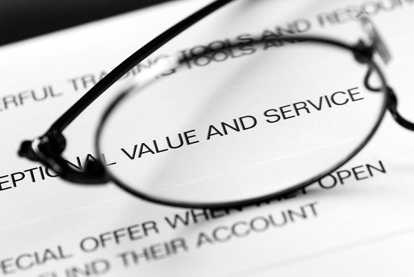 Value and service